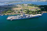 USS Missouri and, Arizona Memorial, Pearl Harbor, Oahu, Hawaii