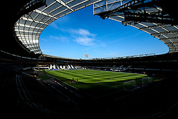 A general view of The KCOM Stadium home to Hull City - Mandatory by-line: Robbie Stephenson/JMP - 24/08/2019 - FOOTBALL - KCOM Stadium - Hull, England - Hull City v Bristol City - Sky Bet Championship
