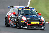 #1 David GRADY MINI JCW during MINI Challenge - JCW as part of the BRDC British F3/GT Championship Meeting at Oulton Park, Little Budworth, Cheshire, United Kingdom. April 15 2017. World Copyright Peter Taylor/PSP.