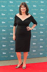 © Licensed to London News Pictures. 11/08/2016. DAISY GOODWIN attends the VIP press screening of Victoria. The ITV series traces the early life of Queen Victoria, from her accession to the throne at the tender age of 18 through to her courtship and marriage to Prince Albert.  London, UK. Photo credit: Ray Tang/LNP