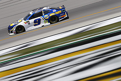July 13, 2018 - Sparta, Kentucky, United States of America - Chase Elliott (9) brings his race car down the front stretch during practice for the Quaker State 400 at Kentucky Speedway in Sparta, Kentucky. (Credit Image: © Chris Owens Asp Inc/ASP via ZUMA Wire)