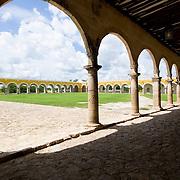 Convent of San Antonio de Padua.<br /> Izamal, Yucatan.Mexico.