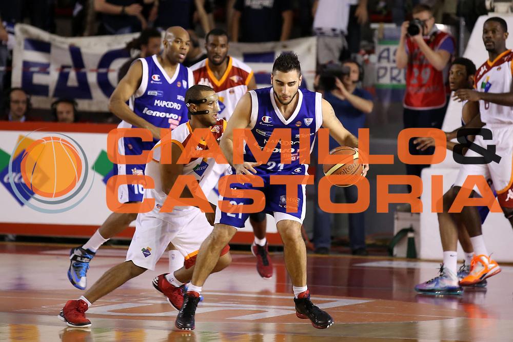 DESCRIZIONE : Roma Lega A 2012-2013 Acea Roma Lenovo Cant&ugrave; playoff semifinale gara 2<br /> GIOCATORE : Pietro Aradori<br /> CATEGORIA : palleggio<br /> SQUADRA : Lenovo Cant&ugrave;<br /> EVENTO : Campionato Lega A 2012-2013 playoff semifinale gara 2<br /> GARA : Acea Roma Lenovo Cant&ugrave;<br /> DATA : 27/05/2013<br /> SPORT : Pallacanestro <br /> AUTORE : Agenzia Ciamillo-Castoria/ElioCastoria<br /> Galleria : Lega Basket A 2012-2013  <br /> Fotonotizia : Roma Lega A 2012-2013 Acea Roma Lenovo Cant&ugrave; playoff semifinale gara 2<br /> Predefinita :
