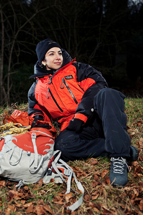Elham Al-Qasimi, originally from Dubai, hopes to be the first Arabic woman to reach the North Pole