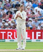 Joe Root of England during the International Test Match 2019 match between England and Australia at Edgbaston, Birmingham, United Kingdom on 3 August 2019.