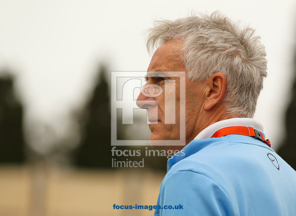 England U17 manager John Peacock before the 2014 UEFA European Under-17 match at Ta' Qali National Stadium, Attard<br /> Picture by Tom Smith/Focus Images Ltd 07545141164<br /> 18/05/2014