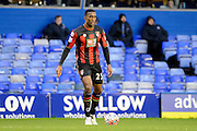 Bournemouth defender Sylvain Distin during the The FA Cup third round match between Birmingham City and Bournemouth at St Andrews, Birmingham, England on 9 January 2016. Photo by Alan Franklin.