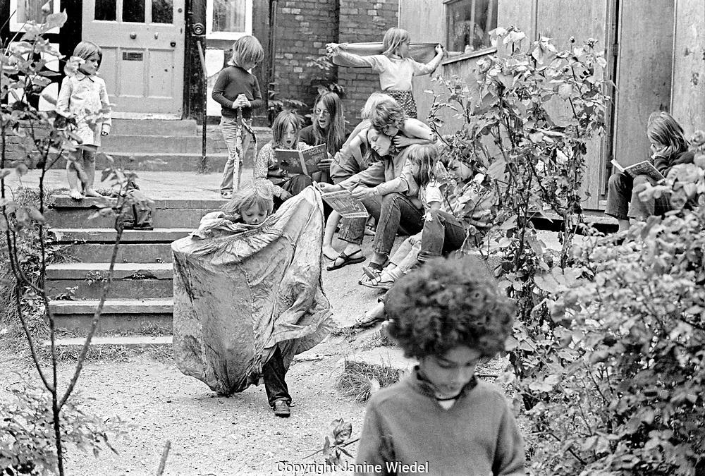 Kirkdale Free School a parent own school in Sydenham 1972