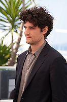 Actor Louis Garrel at the Mal De Pierres (From the Land of the Moon) film photo call at the 69th Cannes Film Festival Sunday 15th May 2016, Cannes, France. Photography: Doreen Kennedy