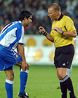 Champions League, 13. August 2003, <br />