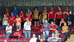 Bristol City fans watch their side at Scunthorpe United in The EFL Cup - Mandatory by-line: Robbie Stephenson/JMP - 23/08/2016 - FOOTBALL - Glanford Park - Scunthorpe, England - Scunthorpe United v Bristol City - EFL Cup second round