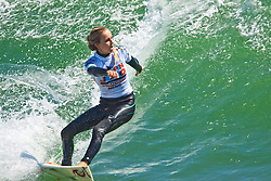 HUNTINGTON BEACH, California/USA (Saturday, July 31, 2010) - Alana Blanchard at the US Open of Surfing 2010 Junior Pro quarterfinals Heat 1.