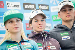 Alenka Cebasek during press conference of Slovenian Nordic Ski team before new season 2017/18, on November 14, 2017 in Gorenje, Ljubljana - Crnuce, Slovenia. Photo by Vid Ponikvar / Sportida