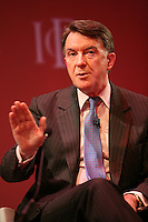 Institute of Directors Annual Convention, Albert Hall, London, UK...Lord Mandelson speaking at the IoD Annual Convention .