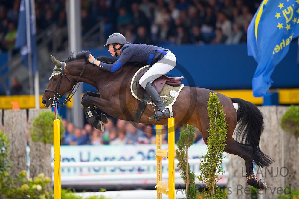Gerben Morsink - Rapidash<br /> FEI World Breeding Jumping Championships for Young Horses 2016<br /> © DigiShots