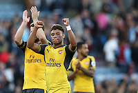 Football - 2016 / 2017 Premier League - Burnley v Arsenal at Turf Moor<br /> <br /> Alex Oxlade-Chamberlain of Arsenal celebrates at the final whistle<br /> <br /> <br /> COLORSPORT/LYNNE CAMERON