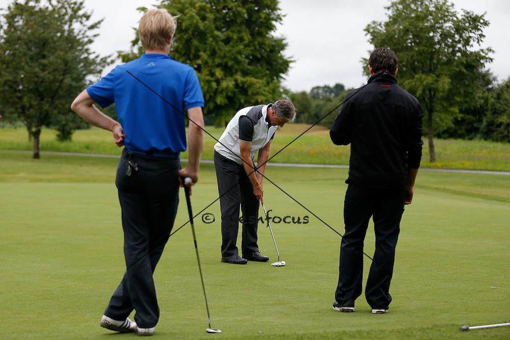 30.07.2014; Luterbach; Eishockey - Swiss Ice Hockey Golf Trophy 2014;   Peter Zahner (Christian Pfander/freshfocus)