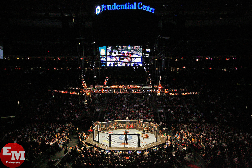 Mar 27, 2010; Newark, NJ, USA; Atmosphere from UFC 111 at the Prudential Center in Newark, NJ.