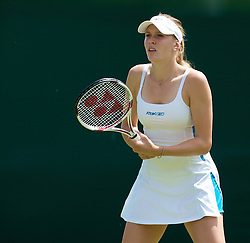 LONDON, ENGLAND - Monday, June 23, 2008: Nicole Vaidisova (CZE) during her first round match on day one of the Wimbledon Lawn Tennis Championships at the All England Lawn Tennis and Croquet Club. (Photo by David Rawcliffe/Propaganda)