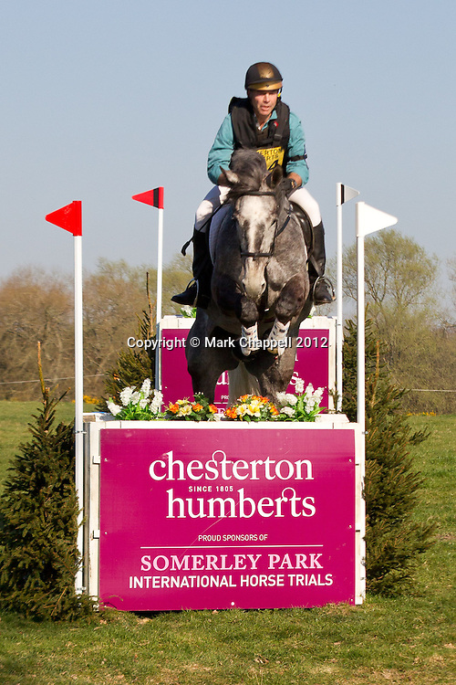 RINGWOOD, UNITED KINGDOM. MARCH 28 2012. The Chesterton Humberts Somerley Park International Horse Trials near Ringwood Hampshire - the first warm up event leading up to the London 2012 Olympics, running BE100, N, I and CIC**. Photo credit: Mark Chappell/LNP