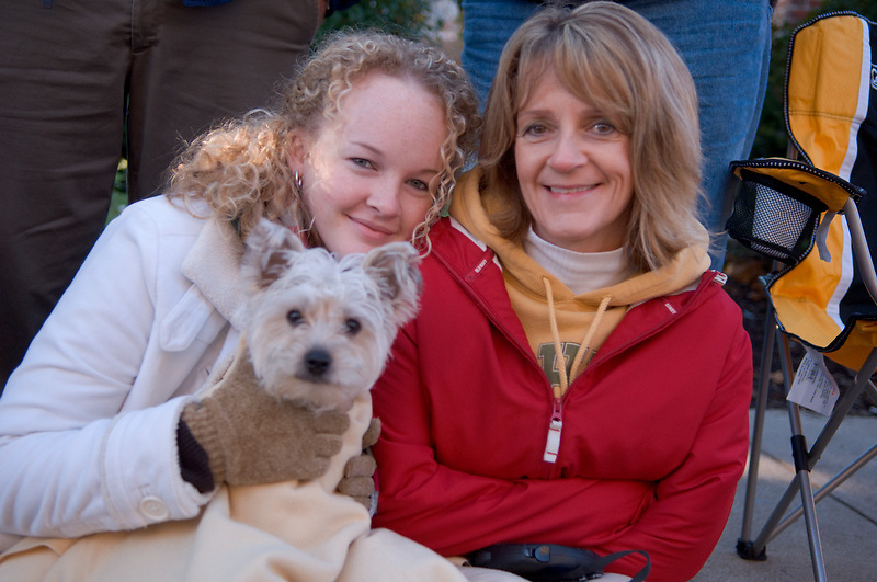 17904Homecoming 2006 10/20/06: Parade...Brittany & Kim Cox
