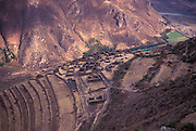 Pisaq Inca ruins,Cuzco department, Peru