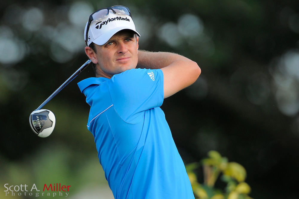 Justin Rose during the third round of the Honda Classic at PGA National on March 3, 2012 in Palm Beach Gardens, Fla. ..©2012 Scott A. Miller.