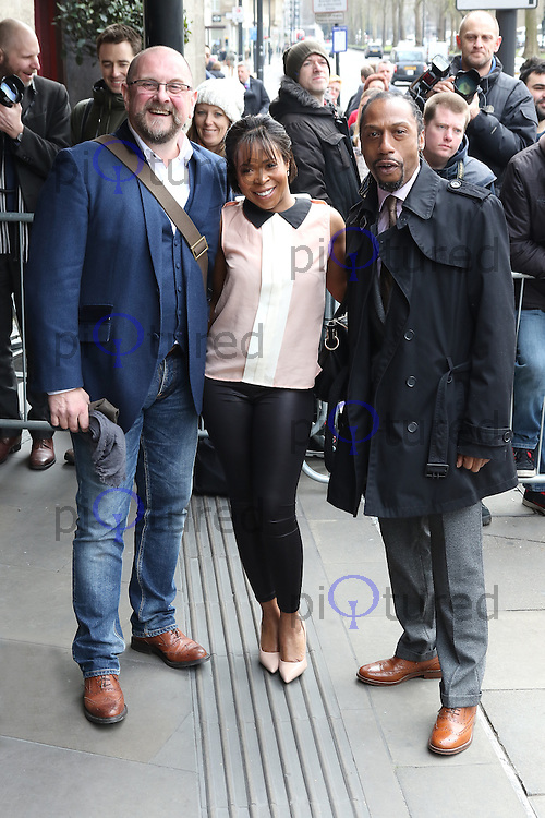 Casualty, Charles Dale, Azuka Oforka, Tony Marshall, The TRIC Awards , Grosvenor House, London UK, 08 March 2016, Photo by Richard Goldschmidt