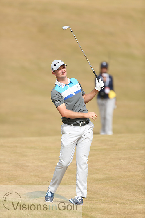 on the first day at The Open Championship 2013, Muirfield, Scotalnd<br /> Picture Credit:  Mark Newcombe / visionsingolf.com