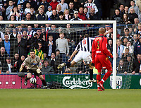 Photo: Mark Stephenson/Richard Lane Photography. <br /> West Bromwich Albion v Watford. Coca-Cola Championship. 12/04/2008. West Brom's Roman bednaar scores but its off side