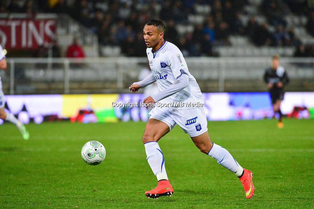 Thomas FONTAINE   - 19.12.2014 - Auxerre / Niort - 18e journee Ligue 2<br /> Photo : Dave Winter / Icon Sport