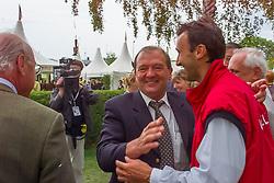 Somers Lucien, Mathy Eugene, Van Dijck Marc, BEL<br /> CHIO Aachen 2001<br /> © Hippo Foto - Dirk Caremans<br /> 15/06/2001
