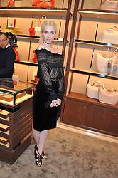 PORTIA FREEMAN at the Salvatore Ferragamo Old Bond Street Boutique Store Launch on 5th December 2012.