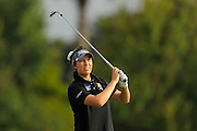 Breanna Elliott during the first round of the Symetra Tour Championship at LPGA International on Sept. 26, 2013 in Daytona Beach, Florida. <br /> <br /> <br /> ©2013 Scott A. Miller