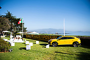 August 15, 2019:  Monterey Car Week, Lamborghini Lounge Mansion at Pebble Beach, Urus