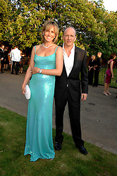 SIMON & SANTA SEBAG-MONTEFIORE at the annual Serpentine Gallery Summer Party in association with Swarovski held at the gallery, Kensington Gardens, London on 11th July 2007.<br /><br />NON EXCLUSIVE - WORLD RIGHTS