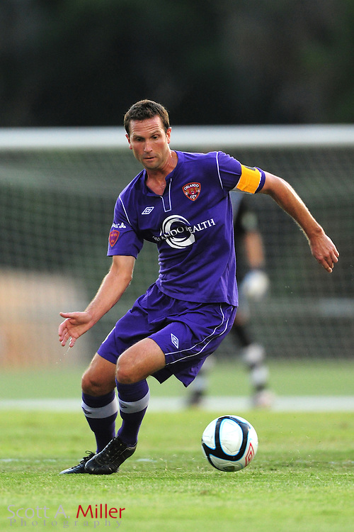 Orlando City's Ian Fuller (4) in action during the Lions game against the Kansas City Athletics in their US Open Cup game at the Seminole Soccer Complex on May 22, 2012 in Sanford, Fla. ..©2012 Scott A. Miller.