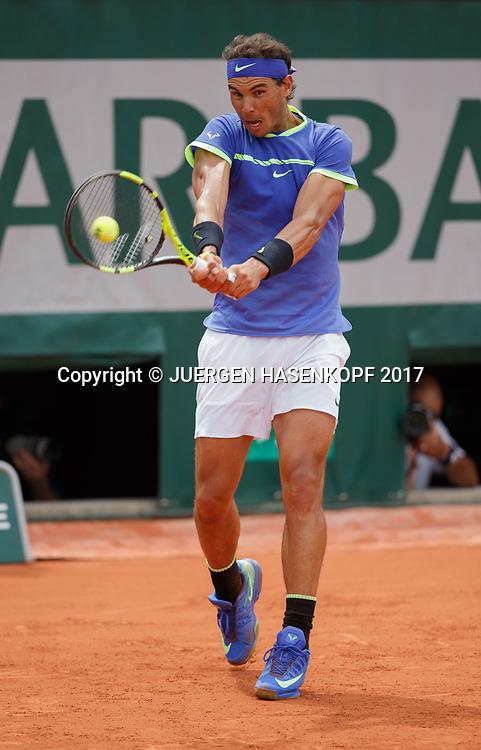 RAFAEL NADAL (ESP)<br /> <br /> Tennis - French Open 2017 - Grand Slam / ATP / WTA / ITF -  Roland Garros - Paris -  - France  - 4 June 2017.
