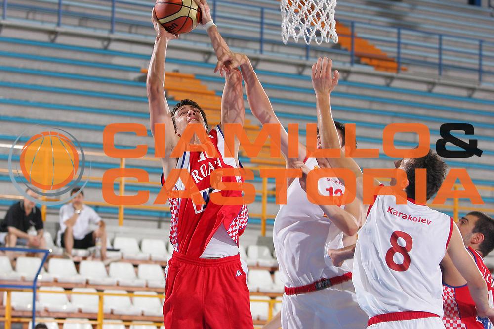 DESCRIZIONE : Gorizia U20 European Championship Men Preliminary Round Fyrom Croatia <br /> GIOCATORE : Filipovic <br /> SQUADRA : Croatia <br /> EVENTO : Gorizia U20 European Championship Men Preliminary Round Fyrom Croatia Campionato Europeo Maschile Under 20 Preliminari Fyrom Croazia <br /> GARA : Fyrom Croatia <br /> DATA : 08/07/2007 <br /> CATEGORIA : Tiro <br /> SPORT : Pallacanestro <br /> AUTORE : Agenzia Ciamillo-Castoria/S.Silvestri <br /> Galleria : Europeo Under 20 <br /> Fotonotizia : Gorizia U20 European Championship Men Preliminary Round Fyrom Croatia <br /> Predefinita :