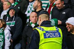 March 23, 2019 - Uppsala, SVERIGE - 190323 En polis under SM-finalen i bandy mellan Villa Lidköping och VästerÃ¥s den 23 mars 2019 i Uppsala. (Credit Image: © Tobias Sterner/Bildbyran via ZUMA Press)