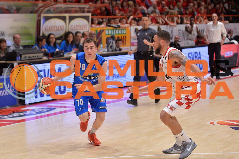 Franko Bushati<br /> The Flexx Basket Pistoia - Germani Leonessa Basket Brescia<br /> Lega Basket Serie A 2016/17<br /> Pistoia, 07/05/2017<br /> Foto Ciamillo - Castoria