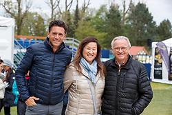 KOSCHEL Christoph (GER), SHINOHARA Yoko (JPN), KOSCHEL Jürgen<br /> Hagen - Horses and Dreams meets the Royal Kingdom of Jordan 2018<br /> Prix St Georges<br /> 25 April 2018<br /> www.sportfotos-lafrentz.de/Stefan Lafrentz