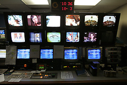 Inside the Master Control Room at Globovision  Globovision, a 24 hour opposition news channel, faces various challenges with the introduction of a new media law.  Supporters of the law, which limits the showing of sex and violence during daylight hours, says it is designed to protect children who may be watching TV.  Opponents claim it is an attempt by President Hugo Chavez to limit what opposition news media can broadcast, and cover, that may negatively reflect the government.