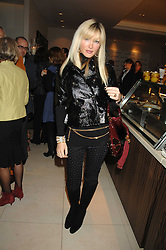 Model CAPRICE BOURRET at a party to celebrate the publication of Lisa B's book 'Lifestyle Essentials' held at the Cook Book Cafe, Intercontinental Hotel, Park Lane London on 10th April 2008.<br />