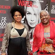 NLD/Amsterdam/20120617 - Premiere Het Geheugen van Water, Jetty Mathurin en dochter