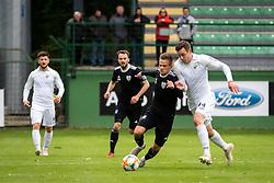 Tomi Horvat of Mura and Marko Ćosić of Rudar during football match between NŠ Mura and Rudar Velenje in 31st Round of Prva liga Telekom Slovenije 2018/19, on May 5, 2019 in Fazanerija, Murska Sobota, Slovenia. Photo by Blaž Weindorfer / Sportida