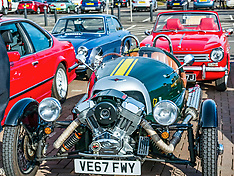 Classic Car Rally, North Berwick,, 28 April 2019