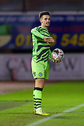 Liam Shephard (#2) of Forest Green Rovers during the The FA Cup match between Carlisle United and Forest Green Rovers at Brunton Park, Carlisle, England on 10 December 2019.