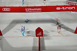 19.02.2019, Stockholm, SWE, FIS Weltcup Ski Alpin, Parallelslalom, im Bild Übersicht // overview during the parallel slalom of FIS ski alpine world cup at the Stockholm, Sweden on 2019/02/19. EXPA Pictures © 2019, PhotoCredit: EXPA/ Nisse Schmidt<br /> <br /> *****ATTENTION - OUT of SWE*****