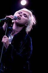Debbie Harryu and Blondie at Hallam FM Arena Sheffield 6th December 2002<br /><br />Copyright Paul David Drabble<br />Freelance Photographer<br />07831 853913<br />0114 2468406<br />www.pauldaviddrabble.co.uk<br />[#Beginning of Shooting Data Section]<br />Nikon D1 <br />2002/12/06 22:50:01.0<br />JPEG (8-bit) Fine<br />Image Size:  2000 x 1312<br />Color<br />Lens: 80-200mm f/2.8-2.8<br />Focal Length: 120mm<br />Exposure Mode: Manual<br />Metering Mode: Spot<br />1/160 sec - f/2.8<br />Exposure Comp.: 0 EV<br />Sensitivity: ISO 800<br />White Balance: Auto<br />AF Mode: AF-C<br />Tone Comp: Normal<br />Flash Sync Mode: Not Attached<br />Color Mode: <br />Hue Adjustment: <br />Sharpening: Normal<br />Noise Reduction: <br />Image Comment: <br />[#End of Shooting Data Section]
